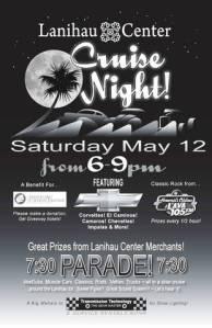 Cruise Night at Lanihau Center